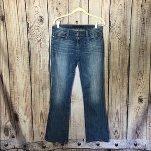 Joe's Jeans Blue Medium Wash Bootcut Jeans